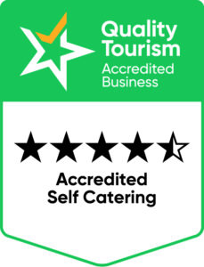 4.5 star rated - accredited self catering